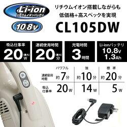 CL105DWのスペック