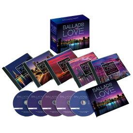バラード・オブ・ラヴ〜100ビューティフル・ソングス バラードオブラヴ CD5枚組 DYCS-1221 ロック ポップス 通販限定【送料無料】
