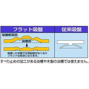 浅井商事すべり止めマット(浴槽用)フラット吸盤型_800214