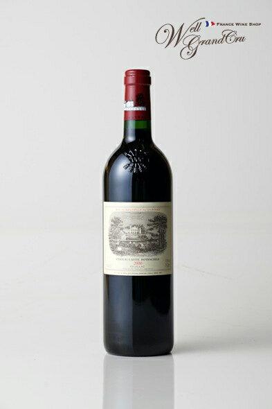 【送料無料】ラフィット ロートシルト2000 CH.LAFITE ROTHSCHILD2000パーカーポイント98+点【フルボディ】☆フランスワイン-赤ワイン-高級ワイン-贈答品-ポイヤック