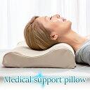 枕 洗えるカバー 高反発 日本製 ウレタン 高さ調節 高め 低め 4配色《メディカルサポートピロー》