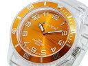 送料無料 AVALANCHE アバランチ 腕時計 メンズ Men's 時計 オレンジ スケルトン 人気 ブランド アバランチ腕時計 アバ…