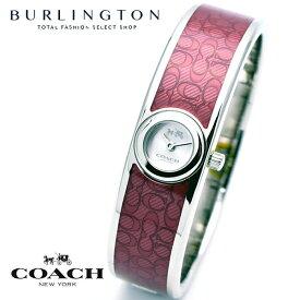 コーチ 腕時計 レディース COACH レッド シルバー スカウト 14502621 バングル ブレスレット コーチ腕時計 コーチ時計 COACH腕時計 COACH時計 人気 ブランド 時計 おしゃれ かわいい 女性 誕生日 ギフト プレゼント