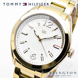 TOMMY HILFIGER トミーヒルフィガー 腕時計 メンズ Men's 時計 ホワイト ゴールド 1781370 クオーツ トミー ヒルフィガー 金 白 人気 ブランド トミー・ヒルフィガー おしゃれ おすすめ 男性 ギフト プレゼント