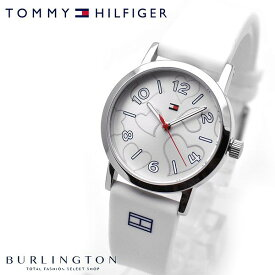 トミー ヒルフィガー 腕時計 レディース TOMMY HILFIGER 1782044 シルバー ホワイト 白 クォーツ 時計 人気 ブランド トミーヒルフィガー腕時計 ステンレス ラバー かわいい おしゃれ おすすめ 女性 プレゼント ギフト