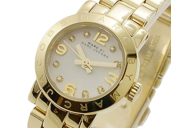 マークバイ マークジェイコブス MARC BY MARC JACOBS 腕時計 レディース Ladies 時計 MBM3226 ホワイト ゴールド 人気 ブランド マークジェイコブス腕時計 かわいい 可愛い 女性 ギフト プレゼント