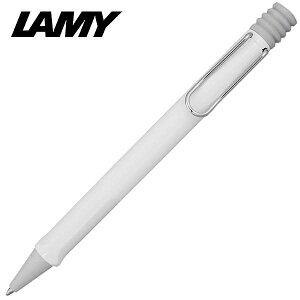 LAMY ラミー ボールペン サファリ SAFARI L219WH ノック式 油性 ホワイト 白 LAMYサファリ ラミーサファリ シンプル 人気 ブランド レディース メンズ 男性 女性 筆記具 筆記用品 入学祝い 進学祝い