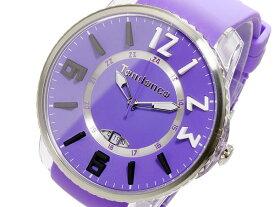 【送料無料】 テンデンス 腕時計 メンズ レディース 兼用 TENDENCE 時計 TG131002 パープル 紫 ビッグフェイス 5気圧防水 日付カレンダー 24時間表示 テンデンス時計 テンデンス腕時計 TENDENCE腕時計 TENDENCE時計 人気 ブランド ウォッチ 大きい サイズ