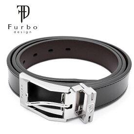 Furbo design フルボ デザイン ベルト メンズ ブラック 黒 FDB008 人気 ブランド シンプル フォーマル おしゃれ 激安 レザー 本革 牛革 おすすめ 紳士 男性 ギフト 誕生日 プレゼント