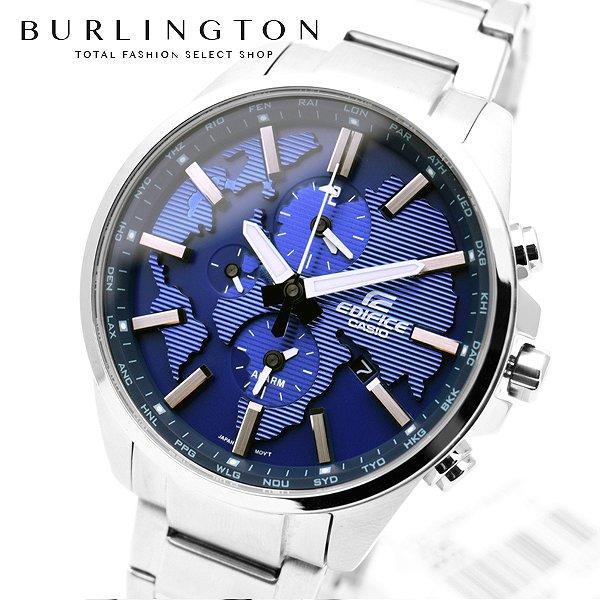 送料無料 エディフィス 腕時計 メンズ EDIFICE カシオ CASIO ETD300D2AV ワールドタイム ブルー 青 シルバー 銀 ウォッチ ブランド 人気 時計 EDIFICE時計 EDIFICE腕時計 激安 セール sale ビジネス 就職祝い 男性 ギフト プレゼント