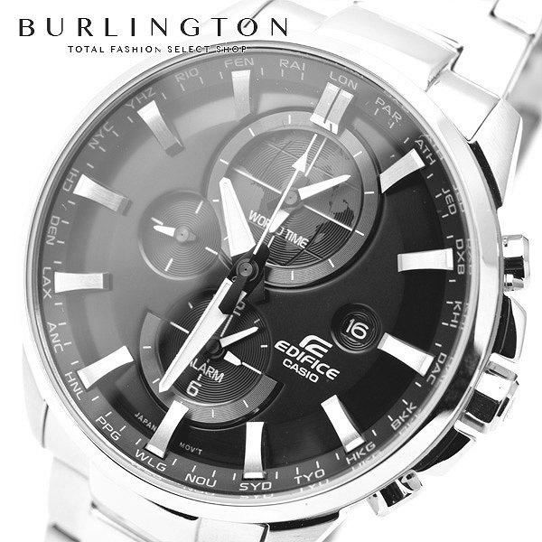 送料無料 エディフィス 腕時計 メンズ EDIFICE カシオ CASIO ETD310D1A ワールドタイム ブラック 黒 シルバー 銀 ウォッチ ブランド 人気 時計 EDIFICE時計 EDIFICE腕時計 激安 セール sale ビジネス 就職祝い 男性 ギフト プレゼント