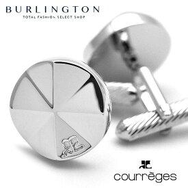クレージュ COURREGES カフス ボタン メンズ カフリンクス シルバー ロジウム 人気 ブランド カフスボタン cuff cufflinks cuffs カフスメンズ おしゃれ 男性 贈答 昇進 お祝い 贈り物 誕生日 ギフト プレゼント