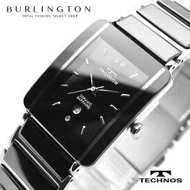 テクノス 腕時計 メンズ TECHNOS TSM903TB ブラック シルバー セラミック ステンレス カレンダー クオーツ アナログ 人気 ブランド テクノス腕時計 テクノス時計 ウォッチ おしゃれ 就職祝い 誕生日 男性 ギフト プレゼント