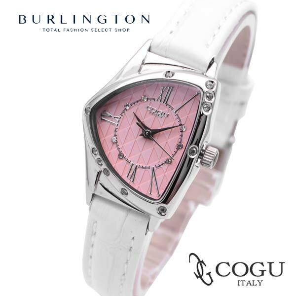 送料無料 正規品 コグ COGU 腕時計 レディース 時計 BS02T-WPK ホワイト ピンク 白 ブランド COGU腕時計 レディース腕時計 コグ腕時計 コグ時計 ラグジュアリー ウォッチ 女性用 ギフト プレゼント