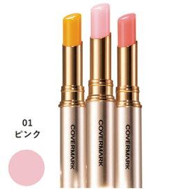カバーマークリアルフィニッシュ ブライトニング リップ エッセンス UV【01 ピンク】