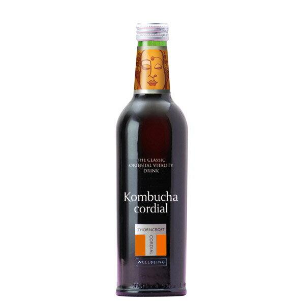 ソーンクロフト社 ハーブコーディアルKombucha(コムブッカ) 375ml〜ナチュラルハーブ飲料〜