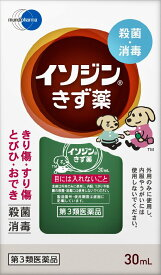 【第3類医薬品】 イソジンきず薬 30ml