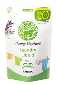サラヤ ハッピーエレファント 液体洗たく用洗剤 つめかえ用 (720mL) 詰め替え用 ウェルネス