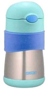 【アウトレット】 ※外箱破損品※ 【即納】 【★】 サーモス 真空断熱 ベビーストローマグ FFH-290ST BL ブルー (1個) 0.29L 9ヵ月頃から