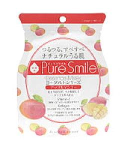 サンスマイル Pure Smile ピュアスマイル エッセンスマスク ヨーグルトシリーズ アップルマンゴー PS-YG003 (1枚入) フェイスマスク ウェルネス
