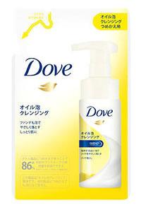 ユニリーバ Dove ダヴ オイル泡 クレンジング つめかえ用 (130mL) 詰め替え用 泡洗顔料 【unil1202_dove】 【unili3d299】 ウェルネス