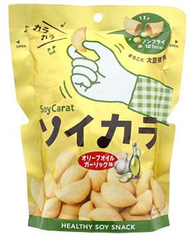 大塚製薬 ソイカラ オリーブオイルガーリック味 (27g) 低GI食品 ウェルネス