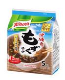 味の素 クノール うれしい素材沖縄産 もずくスープ (5食入り) ウェルネス
