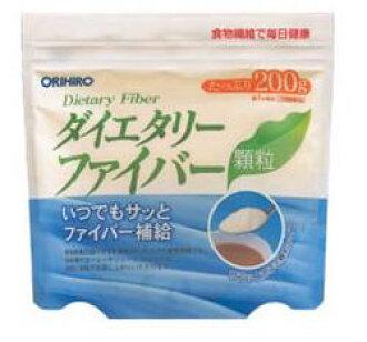《세트 판매》오리히로 식물 섬유 다이어트리 화이바 과립(200 g)×2개 세트 wellness