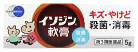 【第3類医薬品】シオノギヘルスケア イソジン軟膏 (5g) 殺菌消毒 ウェルネス