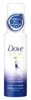 ユニリーバ Dove ダヴ モイスチャーケア 洗い流さないトリートメントクリーム (100mL) ウェルネス