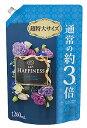 【特売セール】 P&G レノア ハピネス クラッシーフローラルの香り つめかえ用 超特大サイズ (1260mL) 詰め替え用 柔軟剤 【P&G】 ウェルネス