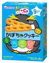 和光堂 赤ちゃんのおやつ +Caカルシウム かぼちゃクッキー 9か月頃から (2本×6袋) ベビーおやつ ウェルネス