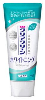 供花王清除清潔美白清除薄荷藥使用的牙膏(120g)