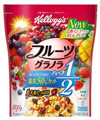 ケロッグ フルーツグラノラ ハーフ 徳用袋 (500g) 栄養機能食品 シリアル グラノーラ