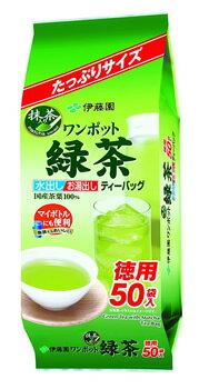伊藤園 ワンポット抹茶入り緑茶 ティーバッグ (50袋) 緑茶