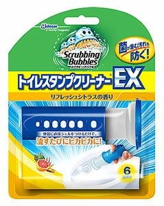 ジョンソン スクラビングバブル トイレスタンプクリーナーEX リフレッシュシトラスの香り 本体 (38g) トイレ用 芳香洗浄剤