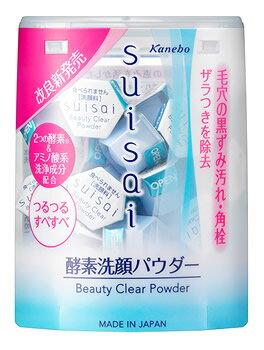 カネボウ スイサイ ビューティクリア パウダーウォッシュ (0.4g×32個) 洗顔料 suisai