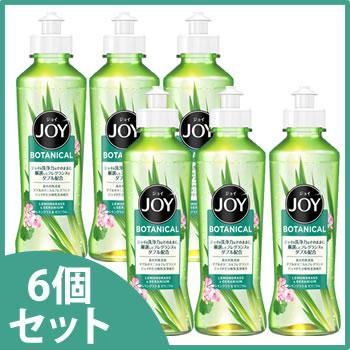 《セット販売》 P&G ジョイ ボタニカル レモングラス&ゼラニウム 本体 (190mL)×6個セット 食器用洗剤 【P&G】