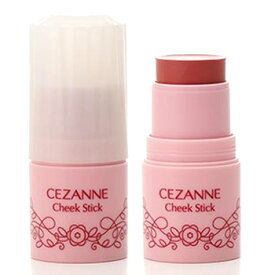 セザンヌ化粧品 チークスティック 03 ローズ (1個) クリームチーク