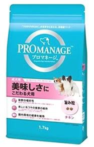 マースジャパン プロマネージ 成犬用 美味しさにこだわる犬用 (1.7kg) ドッグフード 総合栄養食