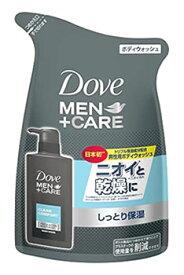 【特売】 ユニリーバ Dove ダヴ メン+ケア ボディウォッシュ クリーンコンフォート つめかえ用 (320g) 詰め替え用 男性用 ボディソープ MEN+CARE
