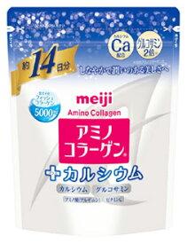 明治 アミノコラーゲン プラス カルシウム 約14日分 (98g) アミコラ コラーゲンパウダー ※軽減税率対象商品
