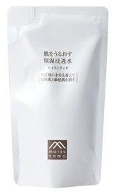 松山油脂 肌をうるおす保湿 浸透水 モイストリッチ つめかえ用 (110mL) 詰め替え用 保湿化粧水 肌をうるおす保湿スキンケア