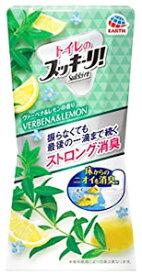 アース製薬 トイレのスッキーリ! ヴァーベナ&レモンの香り (400mL) トイレ用 芳香・消臭剤 置き型