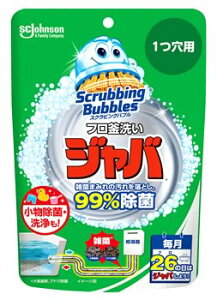 【特売】 ジョンソン スクラビングバブル ジャバ 1つ穴用 (160g) 風呂釜用洗浄剤