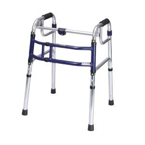固定型歩行器 ユーバ産業 スライドフィット Hタイプ H-0188 在宅用 室内用 コンパクト 折りたたみ 幅調節 高さ調節 送料無料 歩行補助 サポート 施設 病院