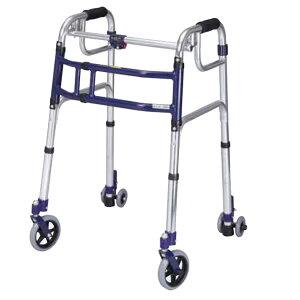 ユーバ産業 送料無料 スライドフィット ハイタイプ H-0195C 歩行器 室内 屋外 兼用 固定式 幅伸縮 歩行器 歩行補助 サポート 施設 病院
