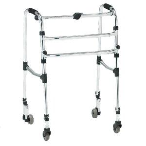 歩行器 交互式 CMS-92A キャスタ 自在 高さ調整 簡単操作 伸縮 歩行補助 安定 施設 自宅 祖父 祖母 プレゼント 母の日