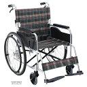 送料無料 車椅子 ワイド 幅広 大柄 座幅46cm 大きいサイズ 折り畳み 折りたたみ 介助用ブレーキ マキテック セレクト…