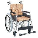 送料無料 マキテック 自走用 車椅子 SMK50 | 車いす 車イス くるまいす 背折れ 折り畳み 折りたたみ 背張り調整 座面…